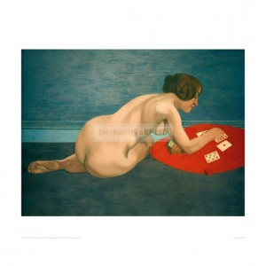 VAL039 Nude Playing Solitaire, 1912