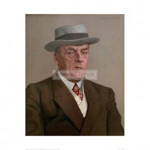 VAL048 Portrait of Octav Mirbeau, 1908