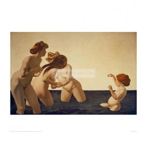 VAL114 Three Women and a Girl, 1907