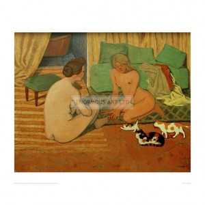 VAL123 Women and Cats, 1897