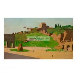 VAL019 Forum Romanum, 1913