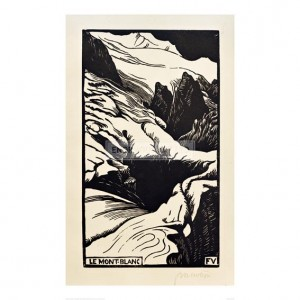 VAL095 The Mont Blanc, 1892