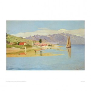 VAL105 The Port of Pully, 1891