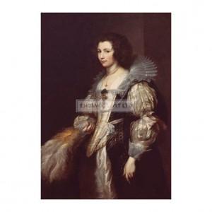 RA071 Portrait of Maria Louisa de Tassis, 1629