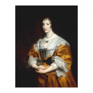 RA069 Portrait of Queen Henrietta Maria