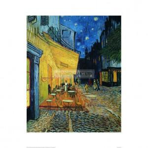 SA005 Cafe Terrace at Night