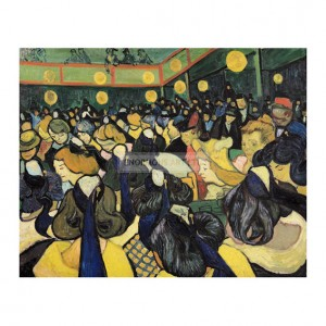 VAN007 Dance Hall at Arles, 1888