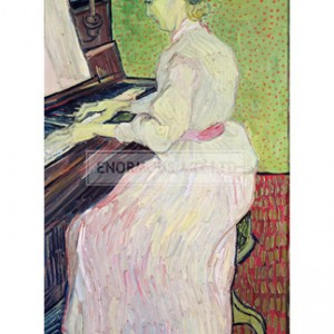 VAN008 Marguerite Gachet at the Piano, 1890