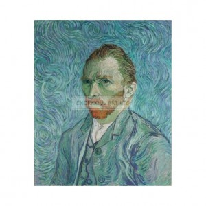 SP008 Van Gogh Self Portrait 1890