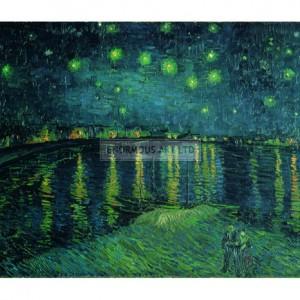 VAN014 Starry Night on the Rhone