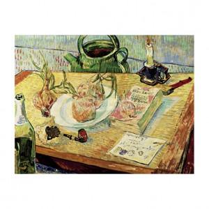VAN003 Drawing Board, Pipe, Onions & Sealing Wax
