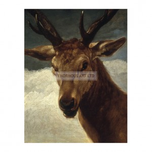 VEL005 Head of a Stag