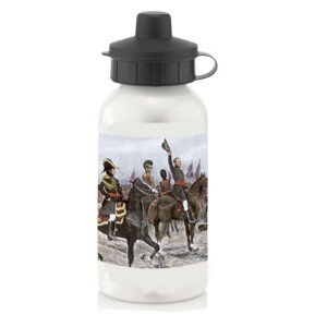 Water Bottle: Duke of Wellington, Advancing