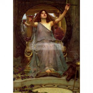 WAT001 Circe Offering the Cup to Ulysses, 1891