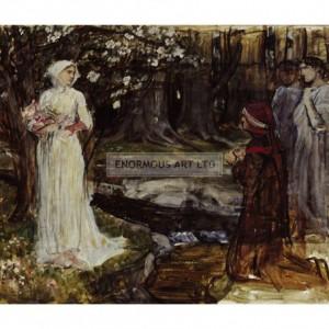WAT029 Dante and Beatrice