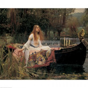 SA060 The Lady of Shalott