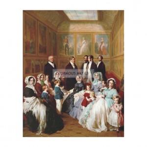 WIN003 Queen Victoria and Prince Consort Albert, 1845
