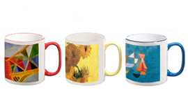 Two-Tone Art Mug Collection