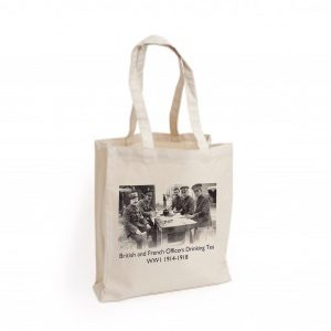 Canvas Bag: BAGC0062 British Officers Drinking Tea