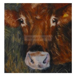 Lakin, Amanda – Brown Cow (Original)