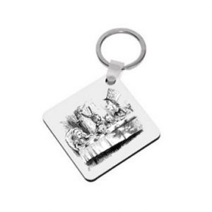 Keyring: The Mad Hatter's Tea Party