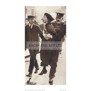 SUF386 Pankhurst Arrest, 1914