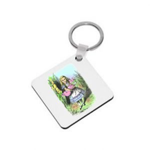 Keyring: Alice & the Pig Baby