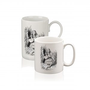 Mug: Alice & the Pig Baby (Black & White)