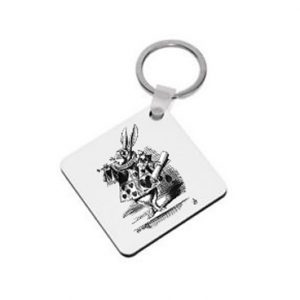 Keyring: Rabbit With Trumpet